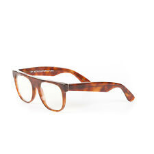 Retrosuperfuture Flat Top Small Dark Havana Optical Glasses Super-630 52mm