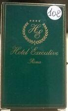 SAPONETTA HOTEL EXECUTIVE - ROMA  - 4 STELLE - RETTANGOLARE CON SCATOLA - N. 102