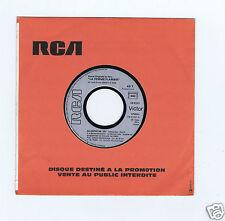 45 RPM SP OST PROMO LA FEMME FLAMBEE ZAZA INGRID CAVEN