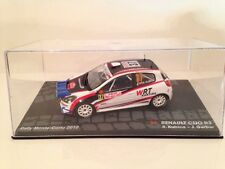 Renault Clio R3 R.Kubica - J.Gerber Rally Monte Carlo 2010 1:43 Scale New