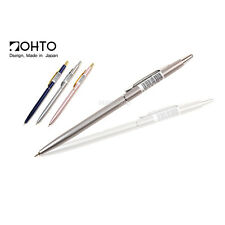 OHTO Slim Line Needle Ball Point Pen 0.5mm (You can choose body color)