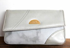 CHRISTIAN DIOR PARFUMS WASHED COATED DENIM MAKEUP PURSE CASE POUCH COSMETIC BAG