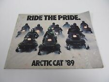 1989 Arctic Cat Vintage Accessories Snowmobile Catalog