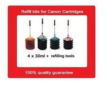 Refill kits for Canon PG-510 (PG510) & CL-511 (CL511) ink cartridges