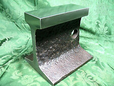 LOOK!! HEAVIER & WIDER RR TRACK ANVIL BLACKSMITH/TINSMITH/JEWELERY/ BENCHTOP