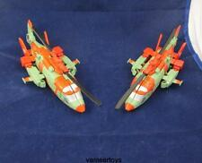 Transformers Combiner Wars Victorion SKYBURST & STORMCLASH Only HeliCopter twins