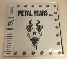 METAL YEARS VOL.1 LP LIMITED EDITION ITALIAN BANDS FROM ROME