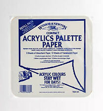 Winsor & Newton Compact Acrylic Mixing Palette Refill - Staywet