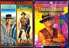 CROCODILE DUNDEE 1,2,3 TRILOGY - PAUL HOGAN R1 EXPRESS POSTAGE