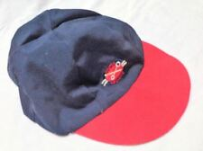 Master Mechanic Men Baby Boys Hat Cap Navy Blue Red Size 24 M Cotton Blend New