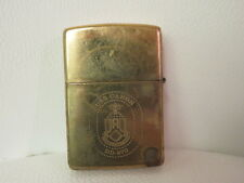 Zippo Lighter Navy Military USS Caron Brass 1995