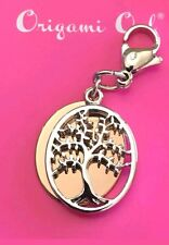 ORIGAMI OWL FAMILY TREE DANGLE FAMILY IS FOREVER ROSE GOLD & SILVER