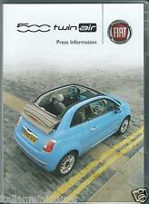 Fiat 500 Twin Air Original Press Information Pack With DVD
