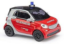 Busch 50711 H0 PKW Smart Fortwo Coupe C453 Feuerwehr