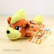 Pokemon Center Original Kuttari Series Growlithe Plush Awake Version From Japan
