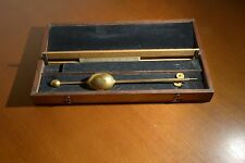 ANTIQUE DRING & FAGE IMPROVED SACCHAROMETER (HYDROMETER) NO.6734 WITH SLIDE RULE