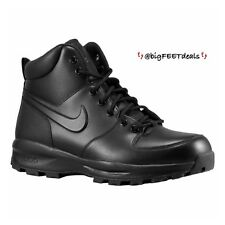"Nike Manoa Leather ""ACG"" Boots BLACK Sz 14 B All Condition Weather Gear"
