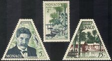 Monaco 1955 Schweitzer/Medical/Nobel Prize/Hospital/People/Palm Trees 3v n43733