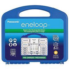 Panasonic K-KJ17MCC82A Eneloop 8aa & 2aaa W/ 2c Spacersupl 2d Cell Spacers 4
