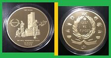 GALLIPOLI~100 YEARS_GOLD Plated_1oz collectable-Limited Issue; C.O.A. included