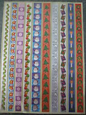 Dufex Stickers-Christmas Borders1 - 1 sheet for card making and scrapbooking