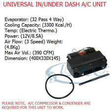 UNIVERSAL AC UNIT ASSEMBLY kit8912V  IN / UNDER DASHBOARD 3 SPEED 12V