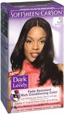Dark and Lovely Permanent Hair Color 371 Jet Black 1 Each