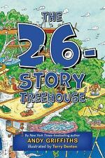 The 26-Story Treehouse by Andy Griffiths (2015, Paperback)