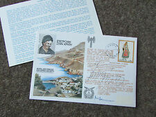 ESCAPE from CRETE 1977  Hand Signed x 2 RAF Escaping Society FDC 1977 - SEE PICS