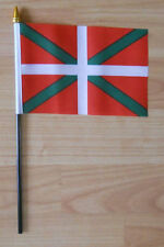 Basque Country Hand Flag - small