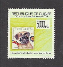 Art Head Study Postage Stamp SOUTH AFRICAN BOERBOEL DOG Guinea 2009 MNH