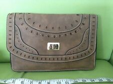NEW LOOK COWBOY RETRO VINTAGE 70s STYLE BAG CLUTCH HANDBAG BAG PURSE BNWT NEW