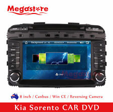 "8"" Car DVD GPS Navigation Touch Screen Stereo Radio For Kia Sorento 2015-2016"