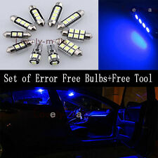 Error Free Blue Light Interior LED Package for Mini cooper S R53 2001-2006 LQ