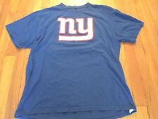 NFL TEAM APPAREL NEW YORK GIANTS VICTOR CRUZ JERSEY T-SHIRT SIZE XL