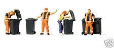 Preiser 10651 emptying trash bins 1:87 amaizing detail