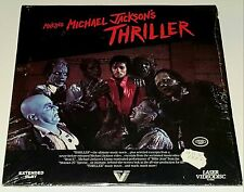 MICHAEL JACKSON THRILLER LASERDISC MOVIE album Pop janet lp cd funk quincy jones