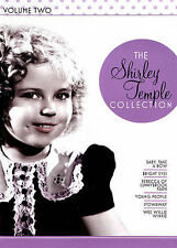 The Shirley Temple collection Volume Two DVD Set Wee Willie Winkle Bright Eyes +