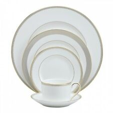 Vera Wang by Wedgwood Golden Grosgrain 20Pc Set, Service for 4