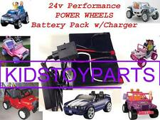 NEW! 24V Long Range Conversion Kit UPGRADE For Power Wheels (Battery & Charger)