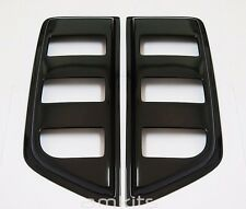 SIDE VENT WINDOW GUARD BLACK PAIR FOR NISSAN NAVARA D40 4 DOORS 2005-2012 PICKUP