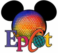 DISNEY FAMILY VACATION MICKEY MINNIE MOUSE EPCOT  FABRIC/SHIRT IRON ON TRANSFER