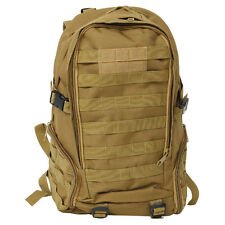 35L Assault Molle Rucksack Military Tactical Backpack Camping Hiking bag Khaki