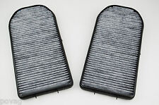 Aktivkohle Innenraumfilter Pollenfilter Microfilter Staubfilter für BMW 7er E38
