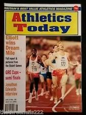 ATHLETICS TODAY - JONATHAN EDWARDS INTERVIEW - JULY 11 1991