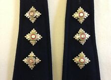 Captain Rank, Officer Rank Stars, Pips, Capt, 3 Pairs, Army, Military