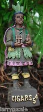 Cigar Store Indian Miniature Figurine 1/24 Scale G Scale Diorama Accessory Item