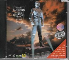 Michael Jackson Video Greatest Hits History China VCD Sealed