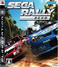 Used PS3 SEGA Rally Revo PLAYSTATION 3 SONY JAPAN JAPANESE IMPORT