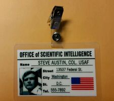 Six Million Dollar Man ID Badge - Steve Austin